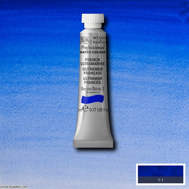 Artists Watercolour 5ml French Ultramarine