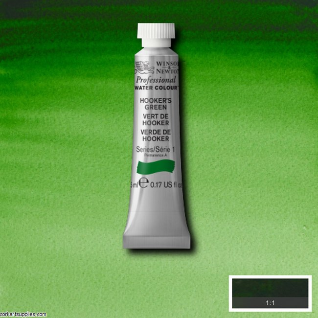 Artists Watercolour 5ml Hooker's Green