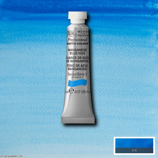 Artists Watercolour 5ml Manganese Blue (Hue)