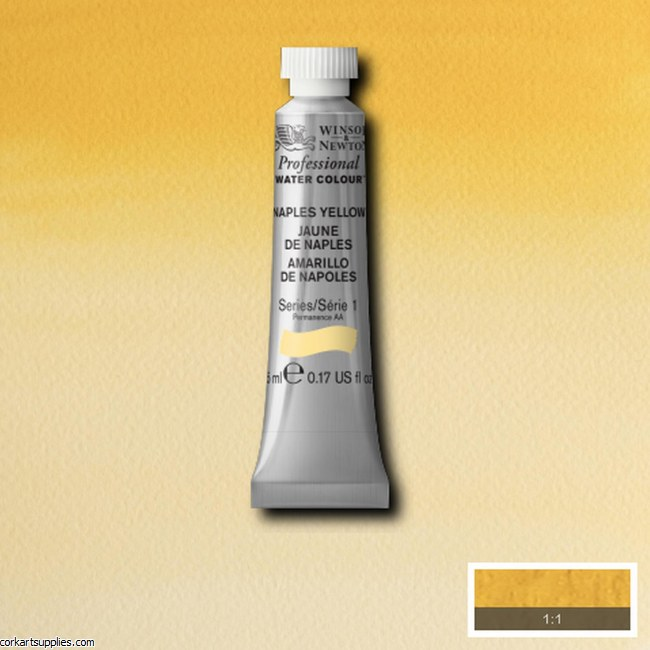 Artists Watercolour 5ml Naples Yellow