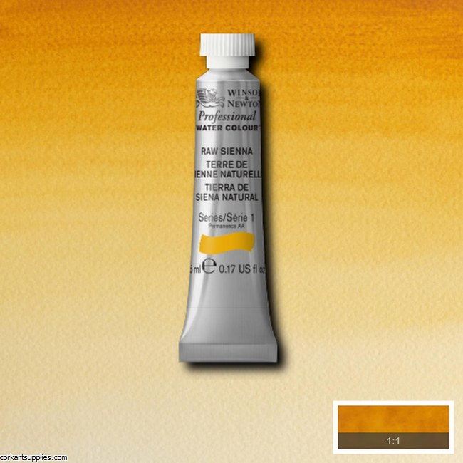Artists Watercolour 5ml Raw Sienna