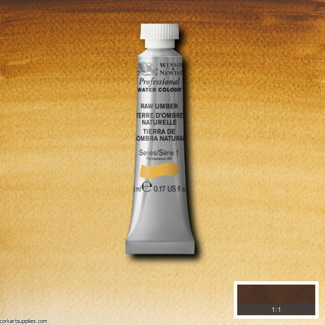 Artists Watercolour 5ml Raw Umber