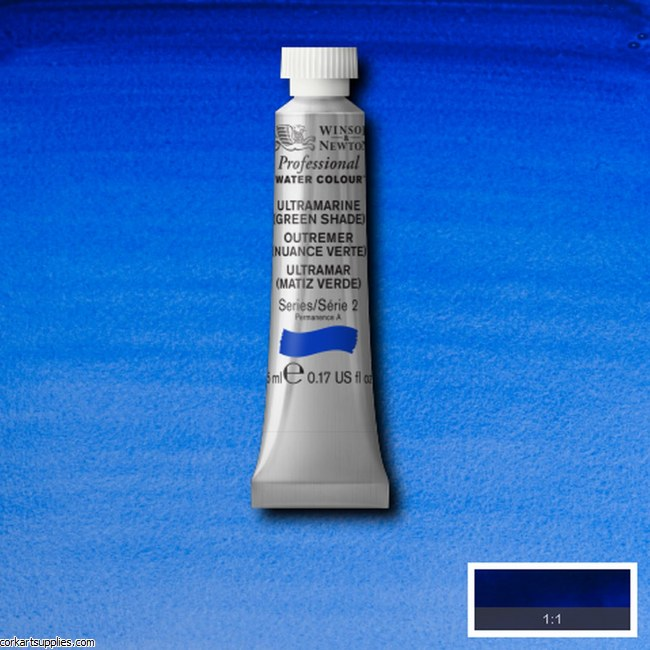 Artists Watercolour 5ml Ultramarine (Green Shade)