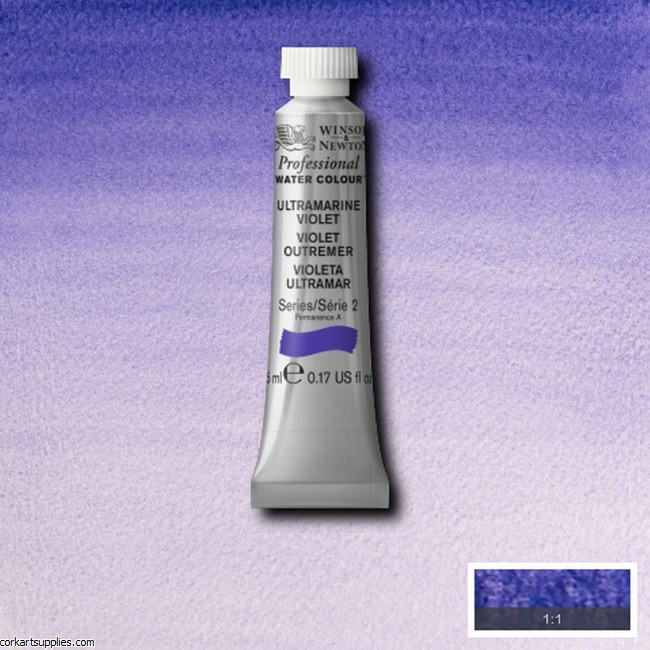 Artists Watercolour 5ml Ultramarine Violet
