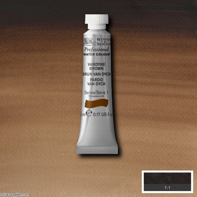 Artists Watercolour 5ml Vandyke Brown