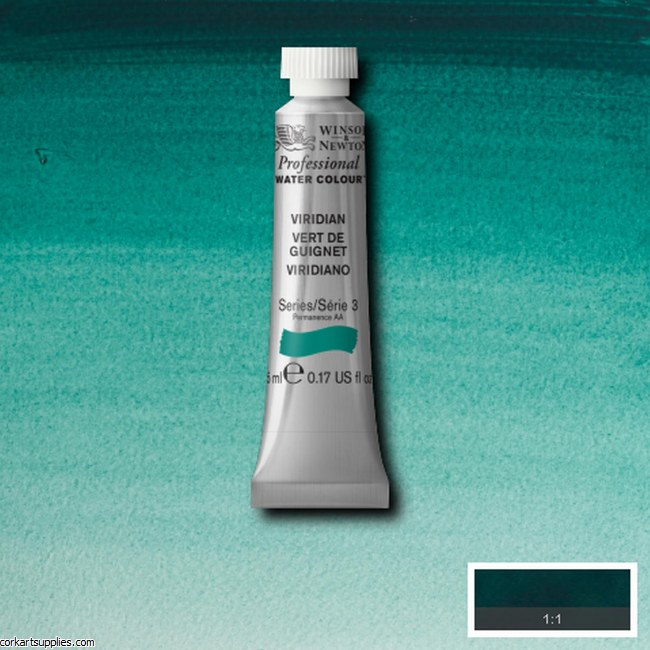 Artists Watercolour 5ml Viridian