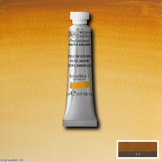 Artists Watercolour 5ml Yellow Ochre