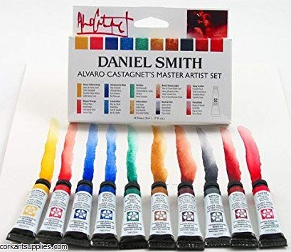 Daniel Smith Alvaro Castagnet's Master Artist Set 5ml 10pk