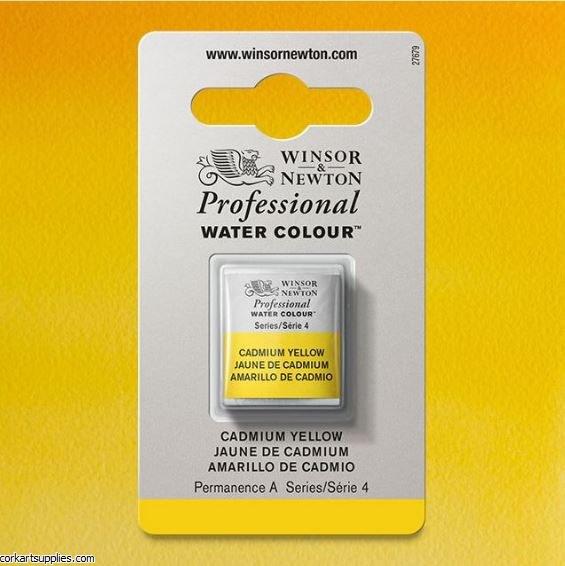 Artists Watercolour Halfpan Cadmium Yellow