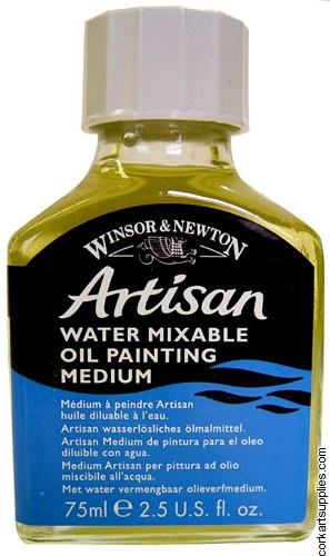 Artisan Water-Mixable Oil 75ml Painting Medium