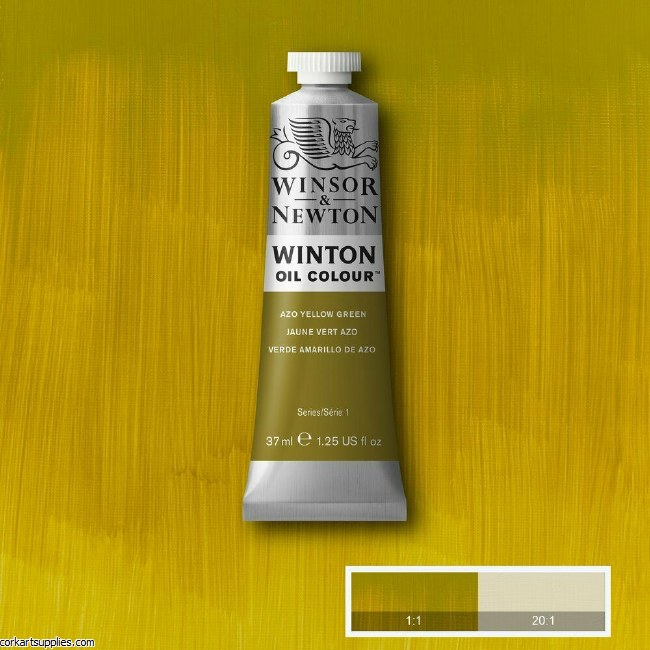 Winton 37ml Azo Yellow Green