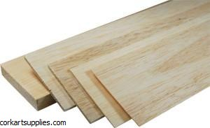 Balsa Sheet 600x100x2.5mm