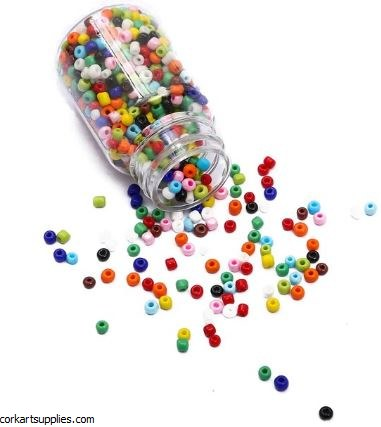 Seed Beads Bottle Mix Opaque
