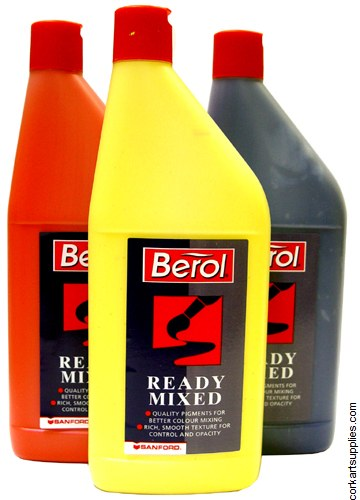 Berol Readymix Paint Burnt Umber*