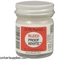 Dr Martin Bleed Proof White