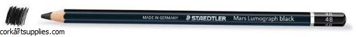 Lumograph Pencil Black 4B