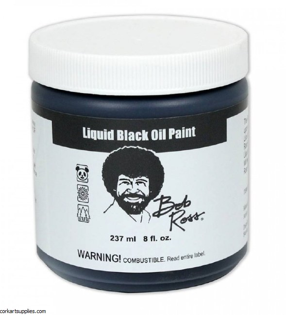 Bob Ross Liquid Black 237ml