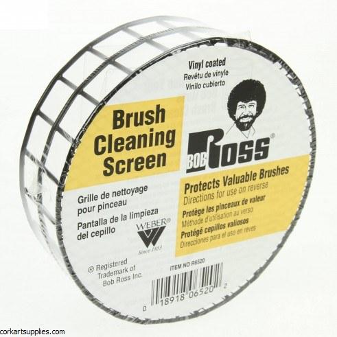 Bob Ross Brush Cleaning Screen