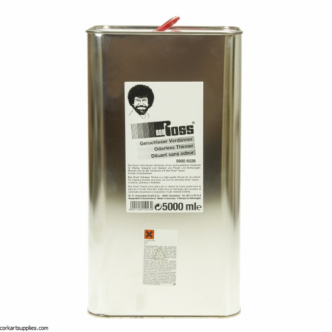 Bob Ross Odourless Thinner 5 Litres
