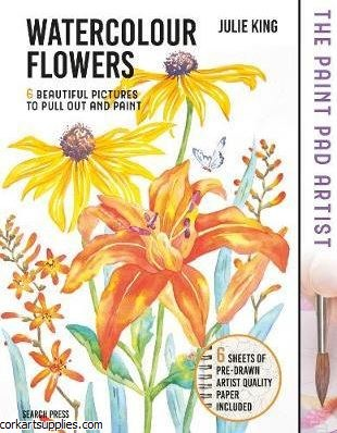 Book Watercolour Flowers Paint