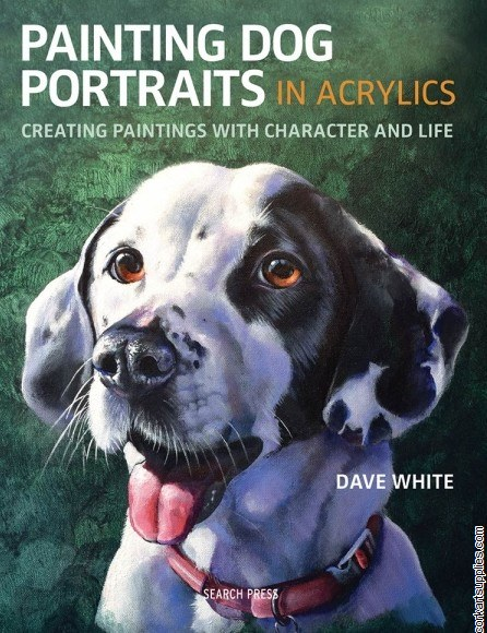 Book Painting Dog Portraits in