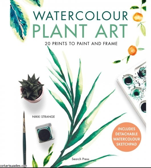 Book Watercolour Plant Art