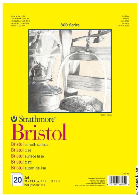 Strathmore Bristol 270gm A4