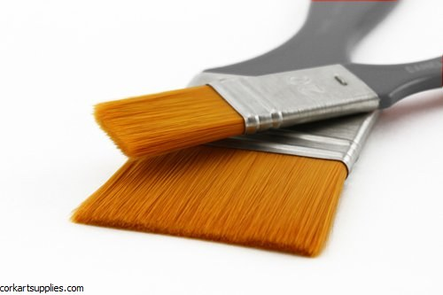 Synthetic Flat Brush 1