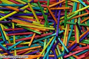 Match Sticks 2000 Coloured Bag