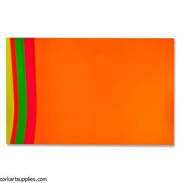Fluorescent Card 20x25
