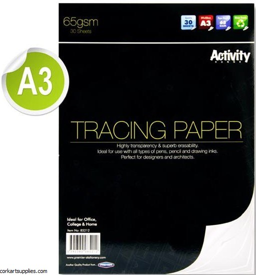 A3 Tracing Pad 65gm 30 Page