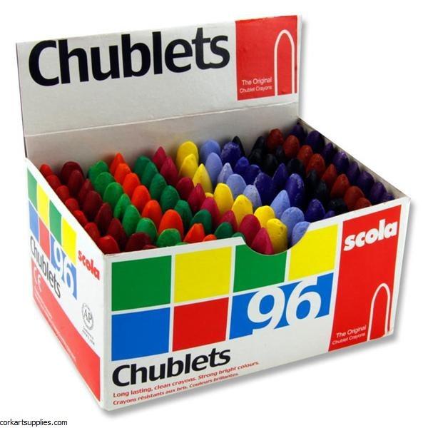 Chublets Scola Asst 96pk