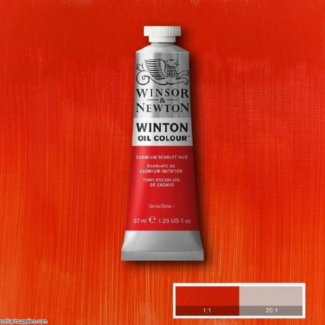 Winton 37ml Cadmium Scarlet Hu