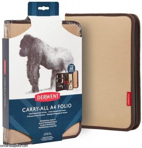 Derwent Carry All A4 Folio Beige