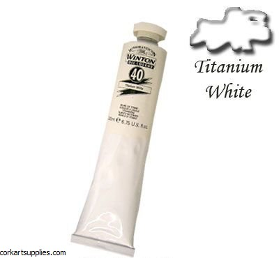 Winton Oil Colour 200ml Titanium White