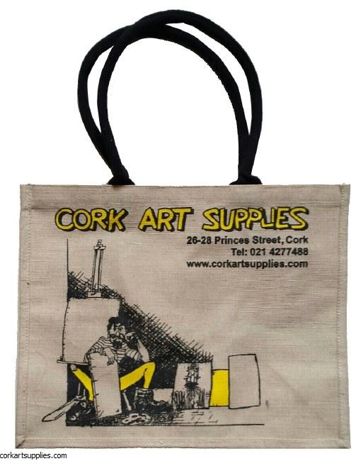 CAS Jute Carrier Bag