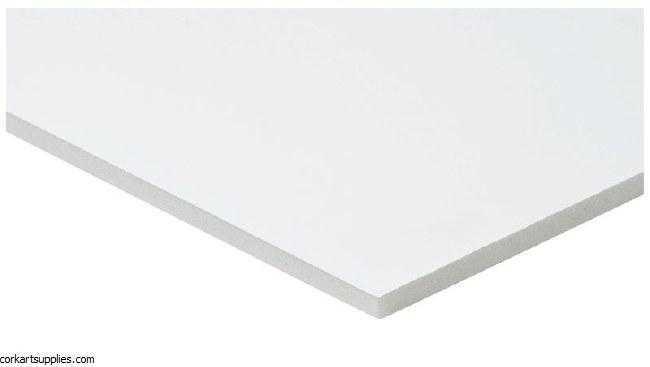 Foam Cor 5mm 50x70cm White ** Minimum Order Quantity of 3**