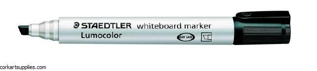 Whiteboard Marker Chisel Black
