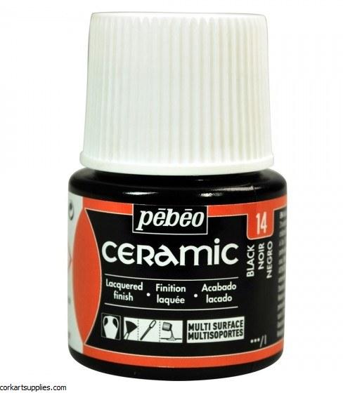 Ceramic 45 Ml Black