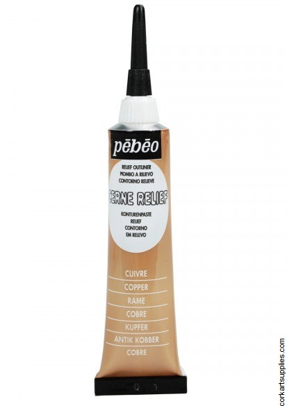 Pebeo Cerne Outliner 20ml Copper