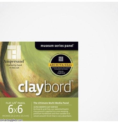 Claybord Panel 3mm 6x6