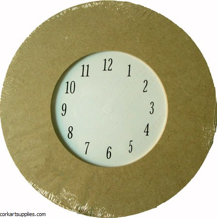 MDF Clock Numbers&Base 8½