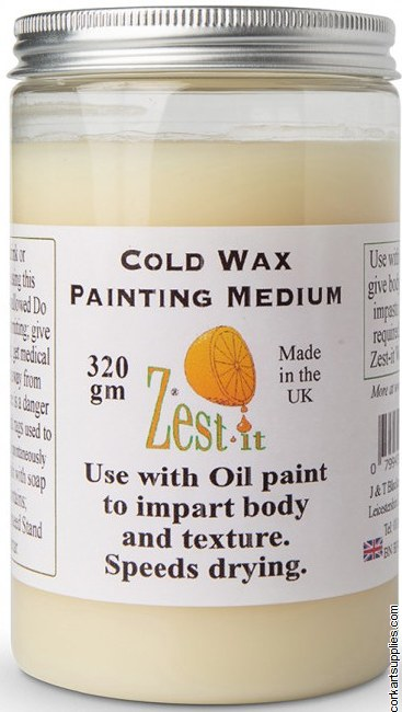 Zest It Cold Wax Medium 320ml