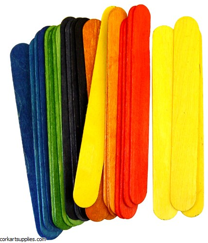 Lollystick 100pk Jumbo Colored
