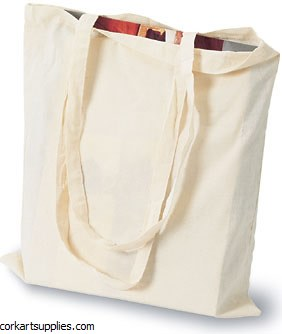 Cotton Carrier Bag Small 28x24cm