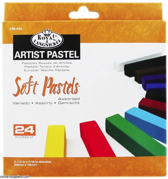 Royal Soft Pastel Asst 24pk