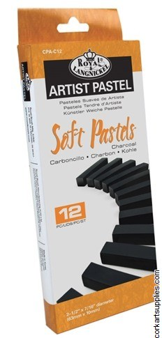 Royal Soft Charcoal Blk 12pk