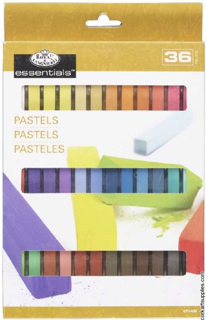 Royal Soft Pastel Half 36pk