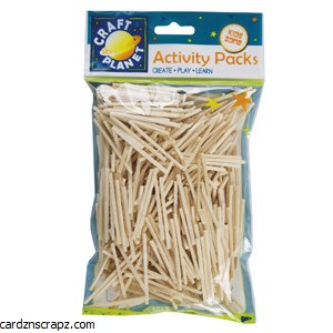 Match Sticks 500pk Bag