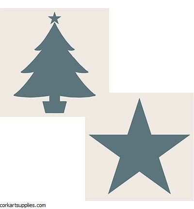 Creative Expressions Star & Christmas Tree